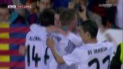 گل بیل به بارسلونا در فینال جام حذفی