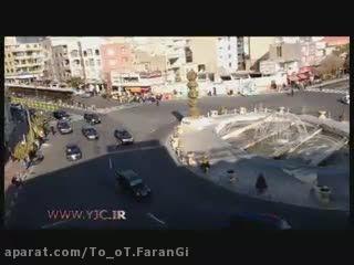 اسکورت پوتین رئیس جمهور روسیه در ایران