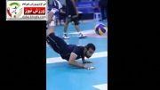 پیروزی تیم ملی والیبال ایران مقابل آمریکا