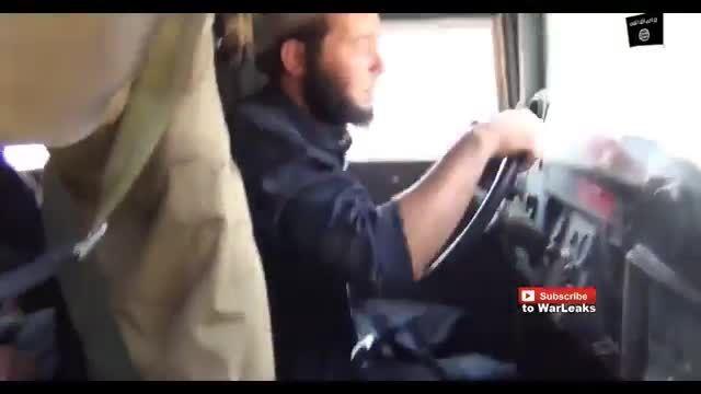 ویدئو حمله داعش به شهر البغدادی