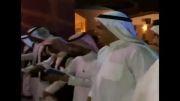رقص شمشیر   رونالدو   با لباس عربی