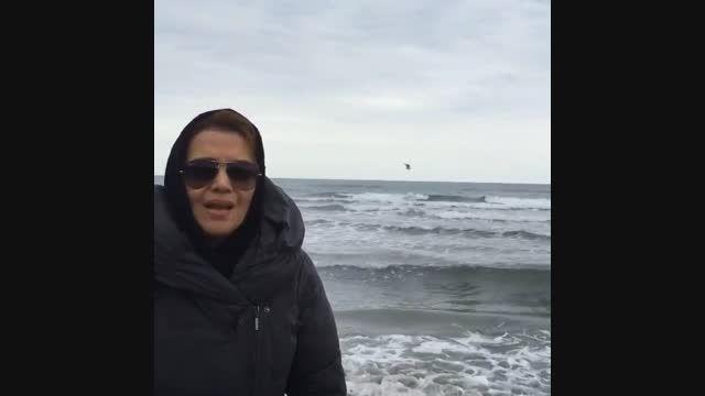 الهام پاوه نژاد و دعوت به کمپین