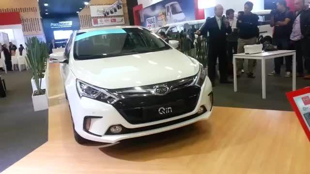 خودروی هیبریدی BYD QIN