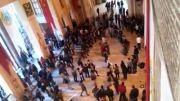  رقص کُردی در دانشگاه استانبول