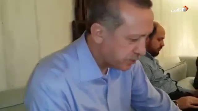 قرآن خواندن رجب طیب اردوغان رئیس جمهور ترکیه
