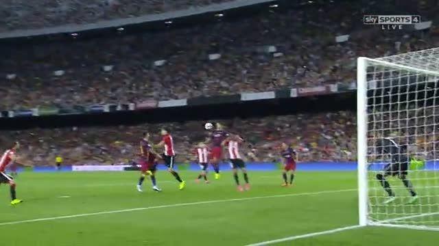 خلاصه بازی : بارسلونا 1 - 1 اتلتیک بیلبائو (سوپرکاپ)