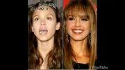 جسیکا آلبا قبل و بعد از آرایش!!