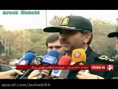 دستگیری 100 سارق و زورگیر توسط پلیس پایتخت