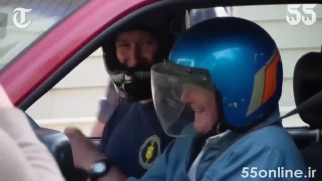 آرزوی اکشن پیرمرد 91 ساله