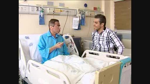 بیت الله عباسپور در بیمارستان