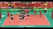 لهستان 3-2 ایران؛ والیبال قهرمانی جهان ۲۰۱۴