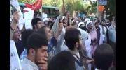 تجمع عفاف و حجاب مقابل وزارت ارشاد 2