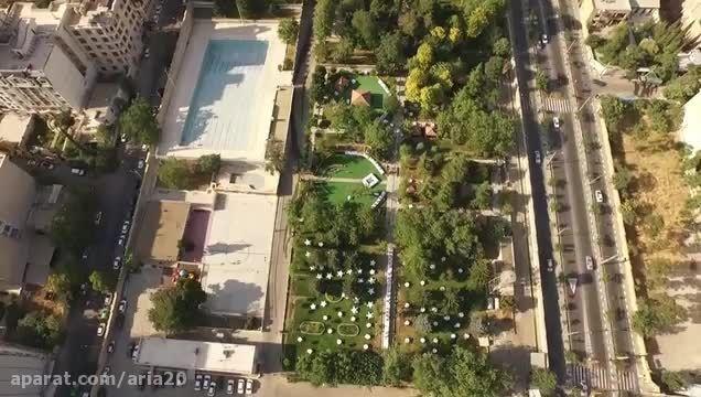 تصاویر هوایی از اقدسیه تهران