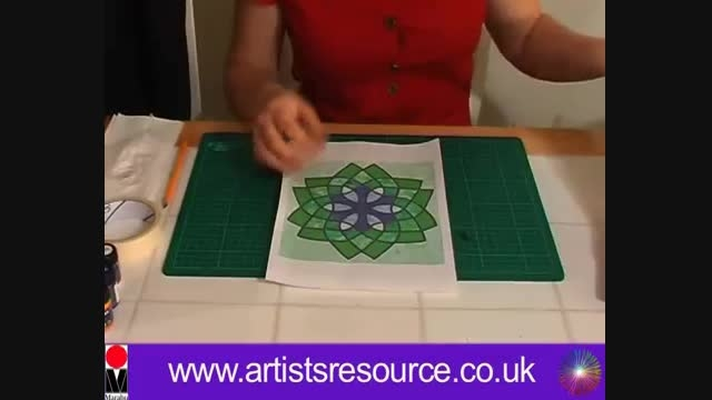 آموزش نقاشی رو پارچه