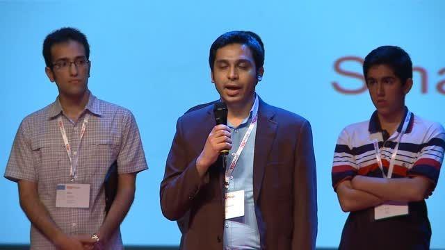شیکسون (Shixon) برنده جایزه تدکس کیش ۲۰۱۵