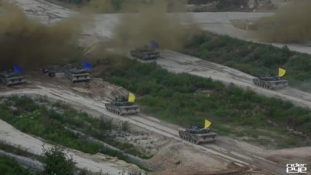 ویدیویی جالب از مانور مشترک آمریکا و کره جنوبی