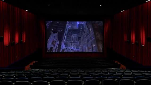 فروزن به روی پرده سینما !