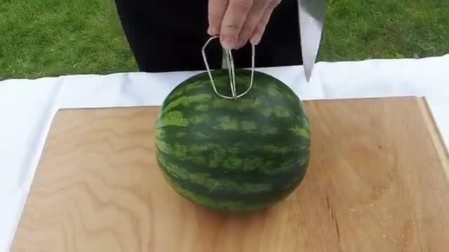 تهیه آب هندوانه