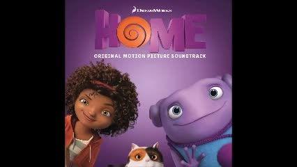 اهنگ dANCING  خوانده شده توسط ریحانا برای انیمیشن HOME