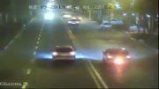 تصادف بد در خیابان ولیعصر