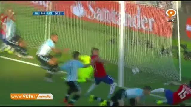 خلاصه بازی: شیلی ۰-۰ آرژانتین /فینال کوپا آمه ریکا ۲۰۱۵