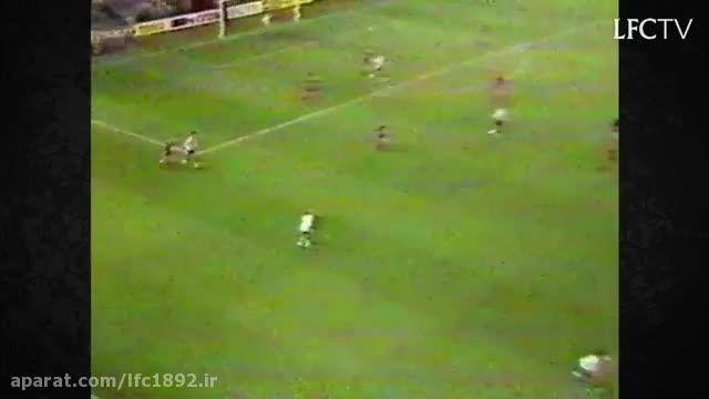 گل شگفت انگیز جان مولبی به منچستر یونایتد در سال 1985