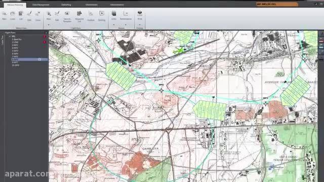 STM FocusFlite ،سیستم دیجیتالی نقشه حرکت خلبانان