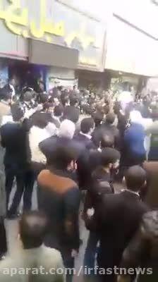 حمله به موسوی لاری در ورامین