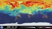 فیلم حیرت انگیز ناسا از چرخه گازهای نامرئی زمین