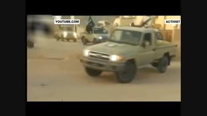 جولان تروریست های داعش در شهر سرت لیبی