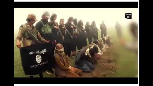 داعش و جدیدترین شیوه وحشیانه اعدام(با انفجار)عراق-سوریه