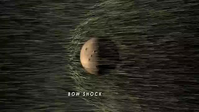 ناسا | باد خورشیدی نوارها جو مریخ