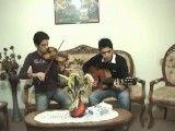 ستاره شادمهر عقیلی  با ویولن پویا درویش و گیتار هومن درویش