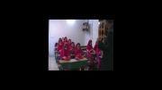 جلسه آموزش لیوان چینی به کودکان دبستانی