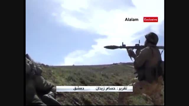 حملات ناکام داعش برای نفوذ به قلمون + فیلم