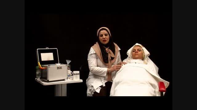 آموزش لایه برداری پوست-معرفی دستگاه میکرودرم ابریژن