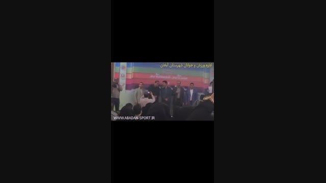 کسب رتبه نخست اداره ورزش و جوانان شهرستان  آبادان