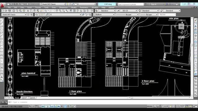 طرح معماری 2.....مدرسه یا دبیرستان....کلیپ کلی