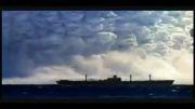 چپ شدن کشتی در اثر سونامی. خیلی جالبه
