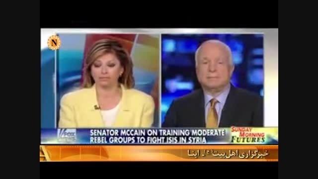 فراموش کاری سناتور جنگ طلب آمریکایی