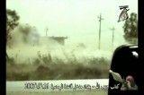 انهدام جیپ ارتش آمریکا وترس سربابازان برای نجات زخمی ها