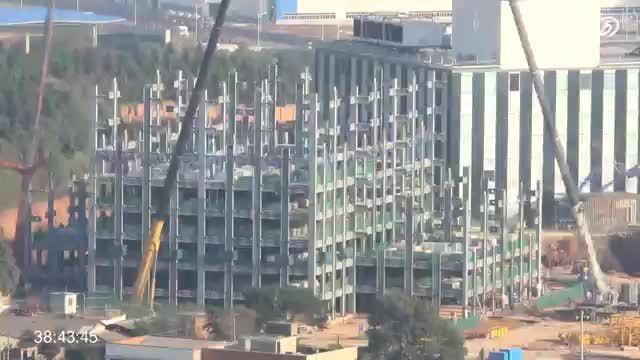 ساخت یک آسمانخراش 57 طبقه را در 19 روز در چین
