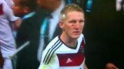 مراسم دریافت مدال طلای تیم ملی فوتبال آلمان در فینال