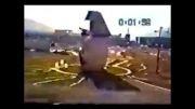 انفجار راکت چین در هوا و تلفات در زمین