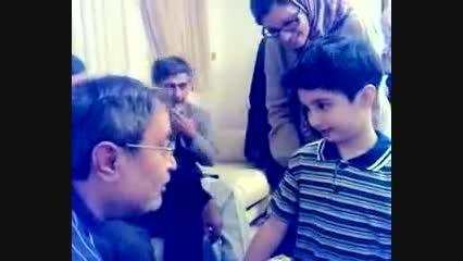 سعید حجاریان صحبت با پسر شهاب الدین طباطبایی