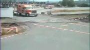 تصادف مرگبار قطار با کامیون!!