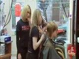 دوربین مخفی در آرایشگاه زنان ها و بریدن انگشت