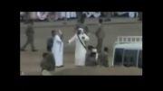گردن زدن یک زن در عربستان