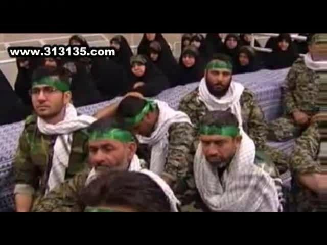 سخنان انقلابی سردار نقدی در حضور امام خامنه ای