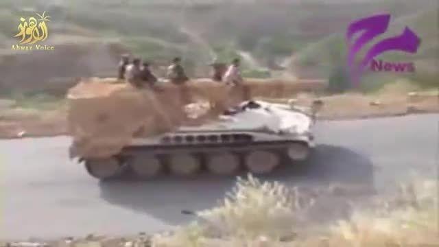 اولین غنایم از ارتش عربستان در دست حوثی ها
